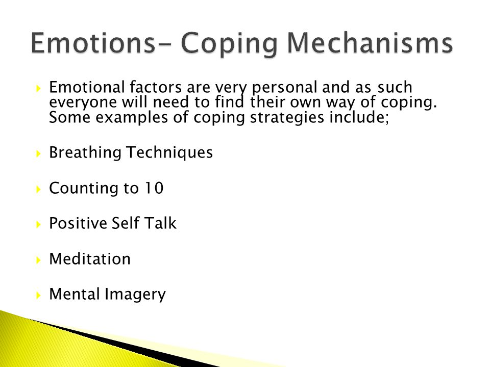 Bellahouston Academy Emotional Factors Can Impact Your