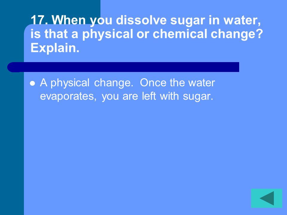16. What is a compound and give an example of a compound.