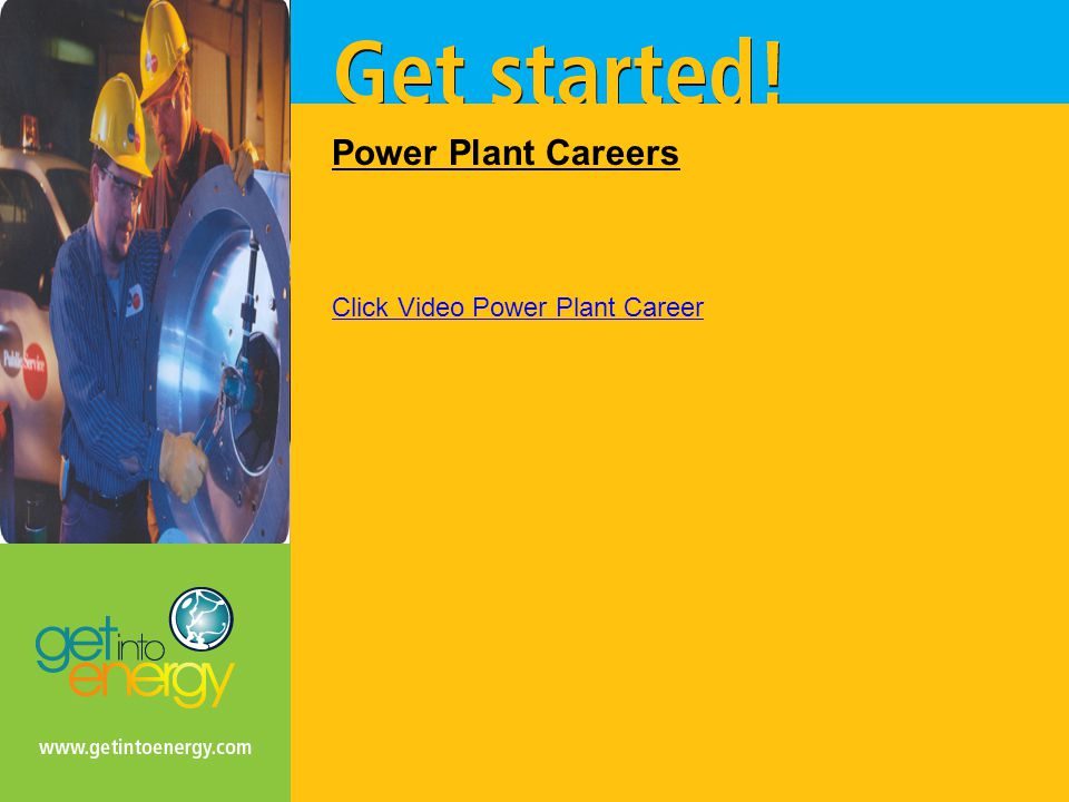 Power Plant Careers Click Video Power Plant Career