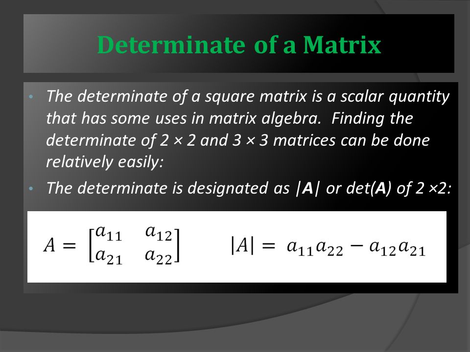 Orthogonal matrix :- An orthogonal matrix is one whose transpose is also its inverse.