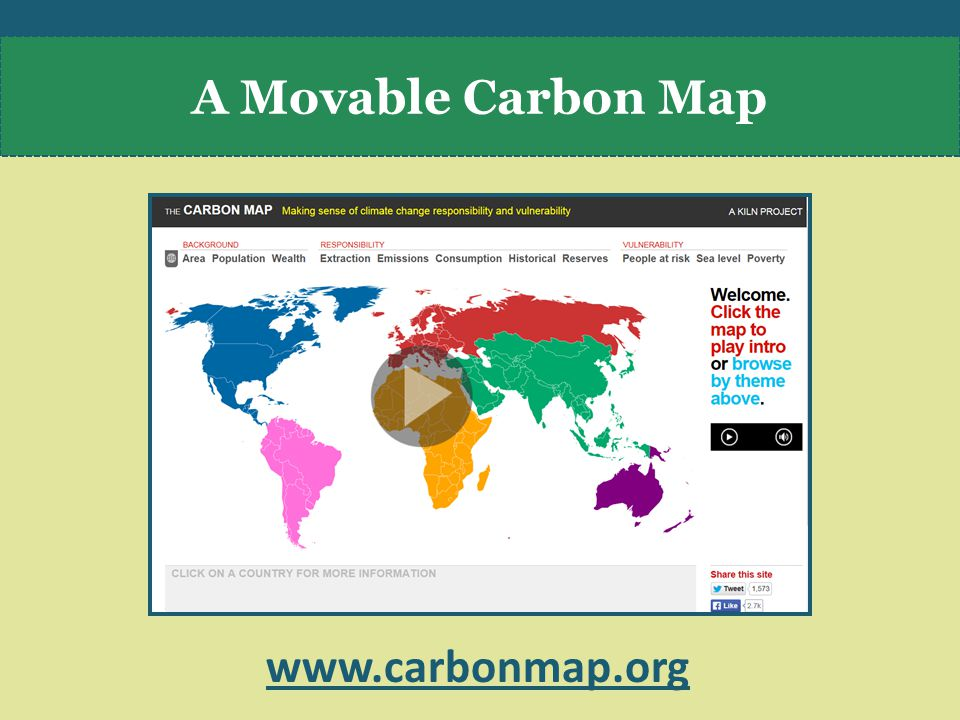 A Movable Carbon Map