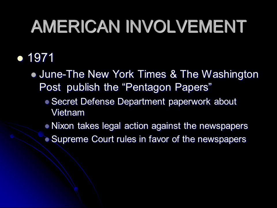 Image result for THE NEW YORK times start publishing the pentagon papers
