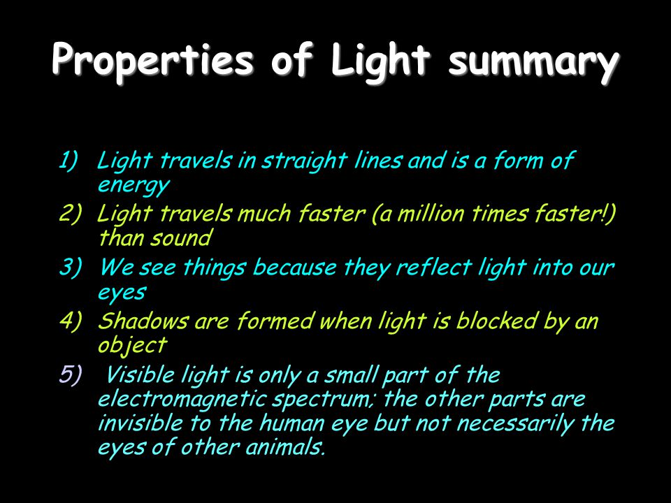 Electromagnetic Radiation Light is a form of energy called Electromagnetic Radiation - Electromagnetic Radiation comes from the sun and other sources Travels at the speed of light Is mostly invisible Carries energy Is VERY important to society and is something YOU can't be without for many reasons