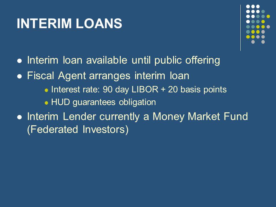Interim Loans