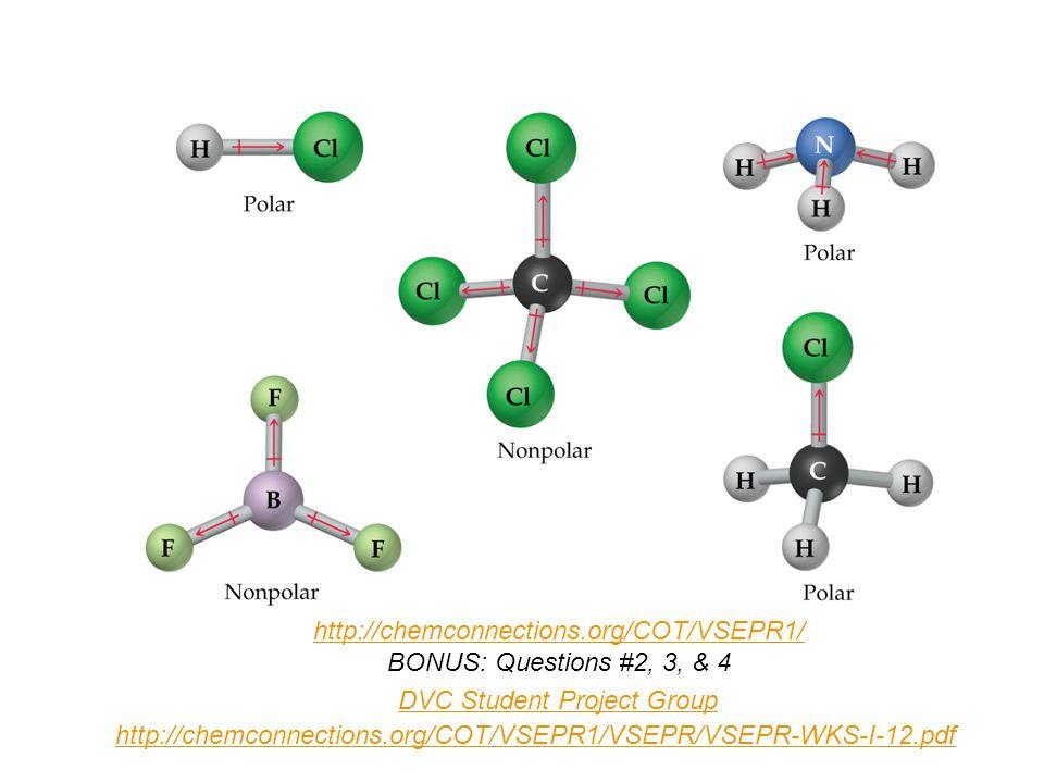 Bonding / Molecular Shapes VSEPR Dr  Ron Rusay  Ionic