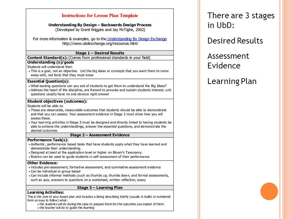 ubd lesson plan in english grade 7