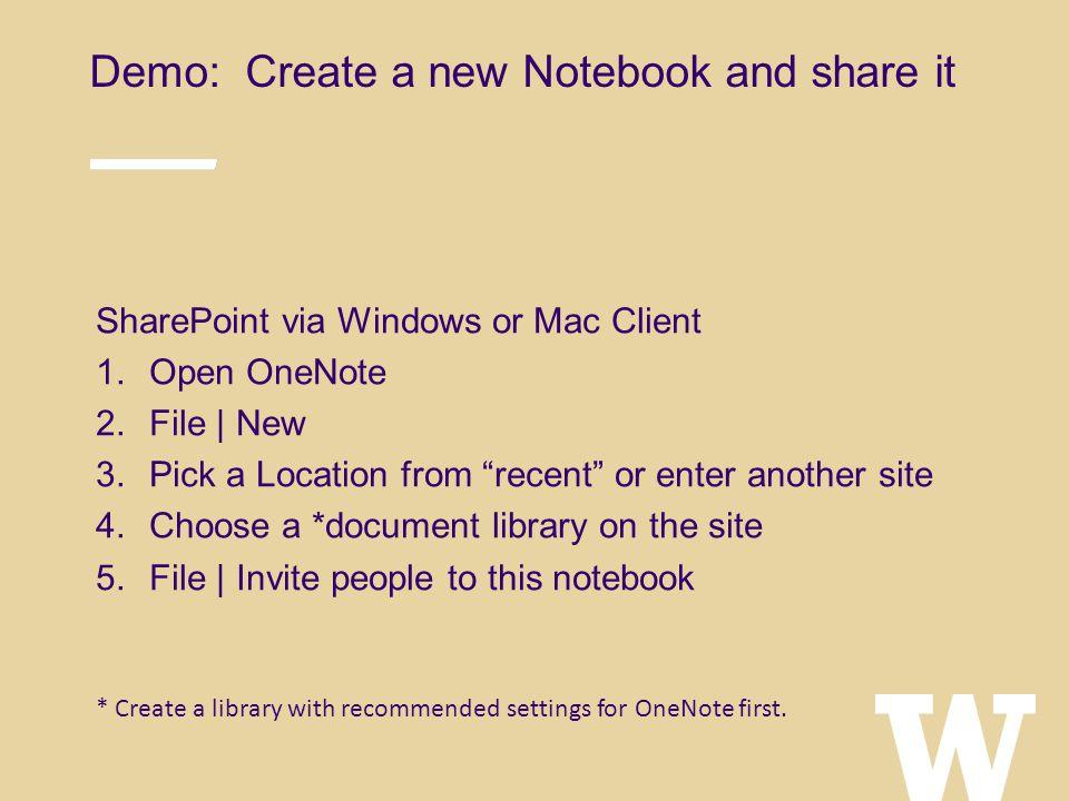 OneNote 2013 May 13, 2015 Tech Talk Odegaard 220 Greg Frick May 13