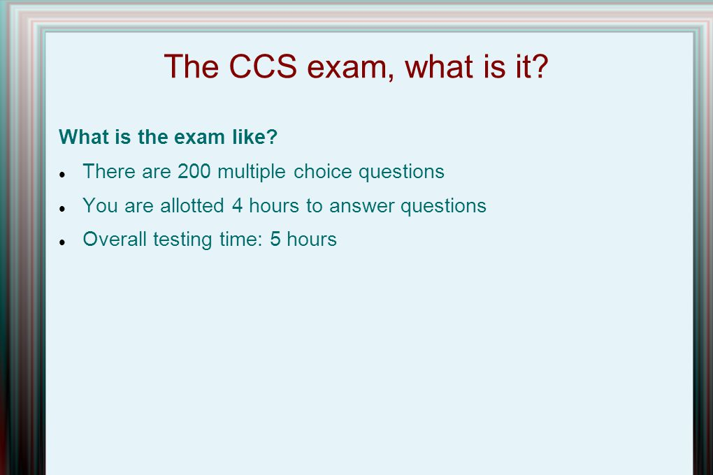 csi certification presented to the louisville chapter of csi rh slideplayer com Exam Study Tips Social Study Exam Grade 7 Example