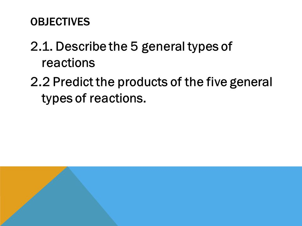 112 Types Of Chemical Reactions January 2015 Objectives 21. 2 112 Types Of Chemical Reactions January 2015. Worksheet. Types Of Reactions Worksheet Prentice Hall At Mspartners.co