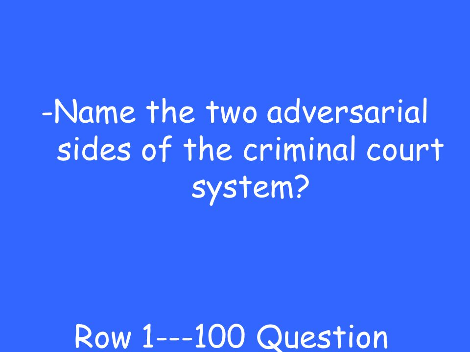 Criminal Court Court Procedures More Court Supreme Court Cases Civil and Criminal