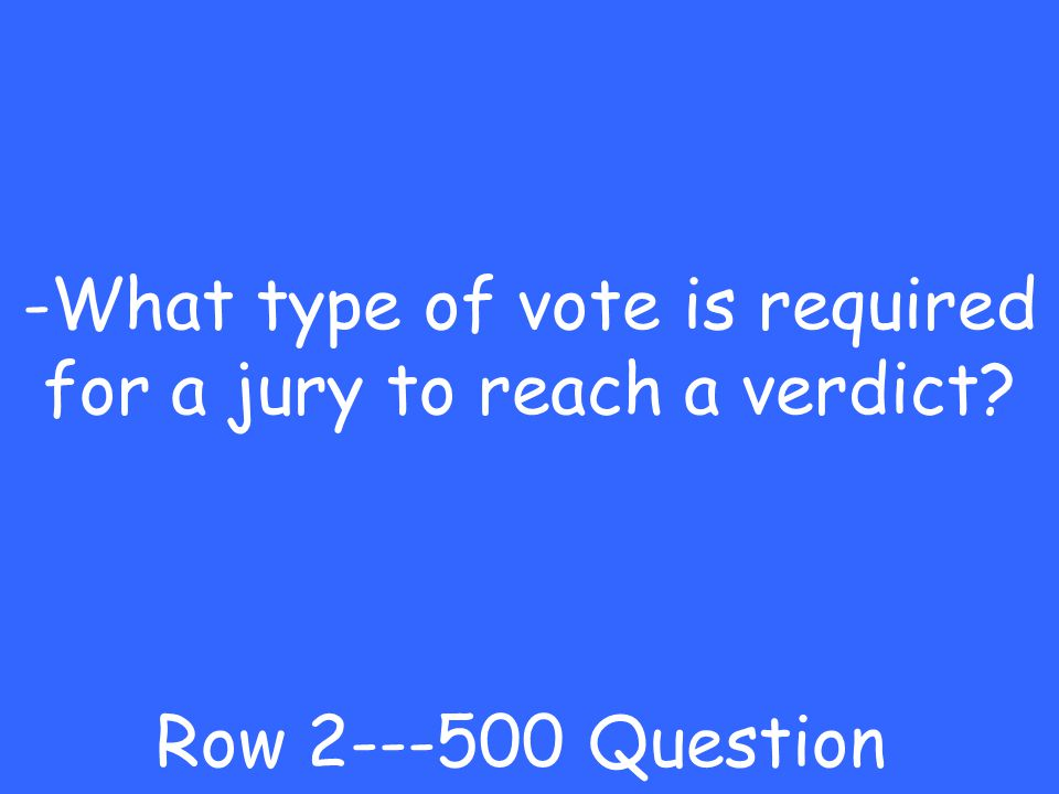 -cross examination Row Answer