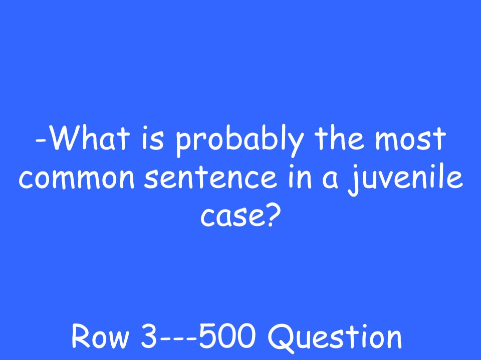 -cleared Row Answer