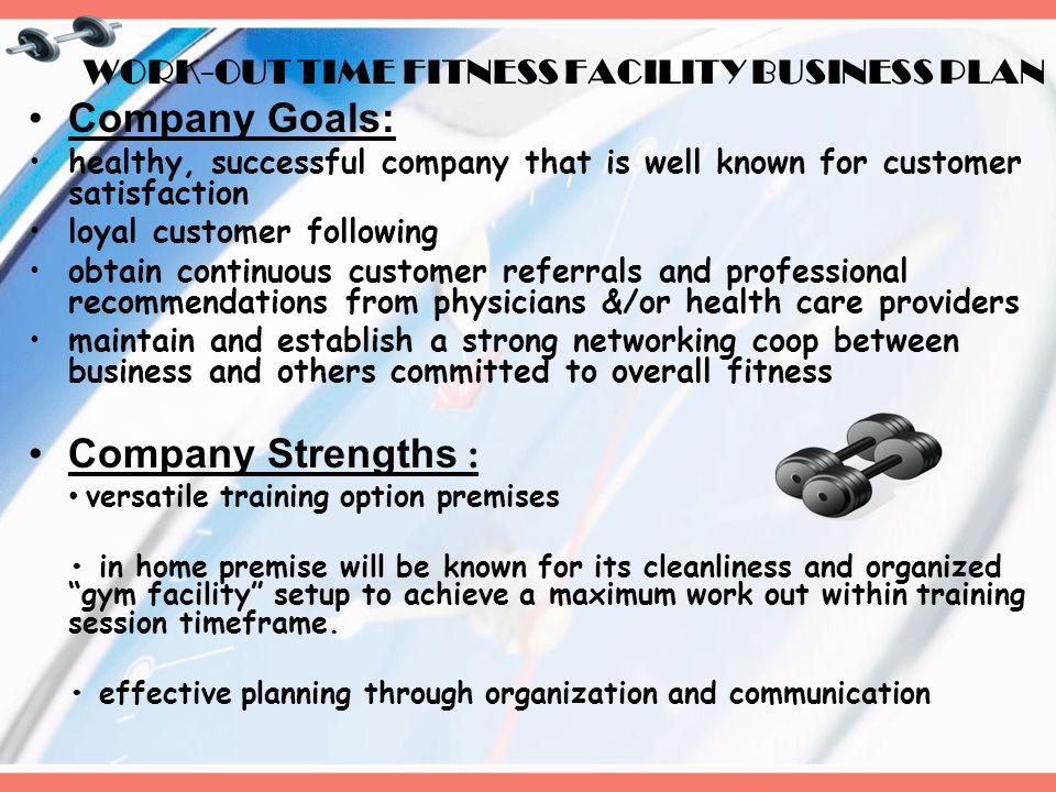 company description for a business plan