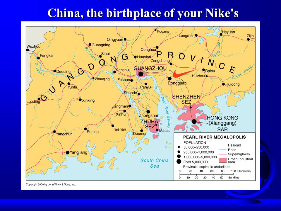 China, the birthplace of your Nike s