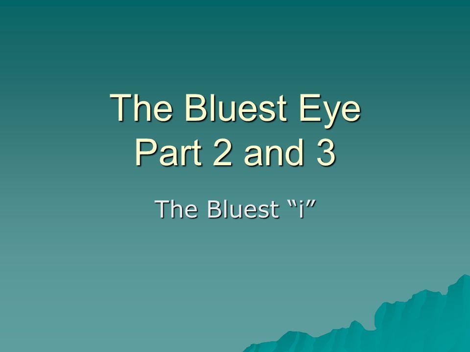 the bluest eye racism theme