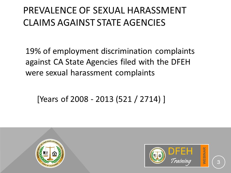 Caci sexual harassment hostile environment