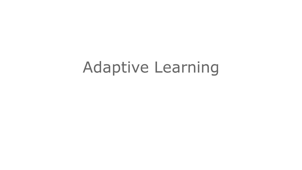 Intel® Education K-12 Resources   Adaptive Learning