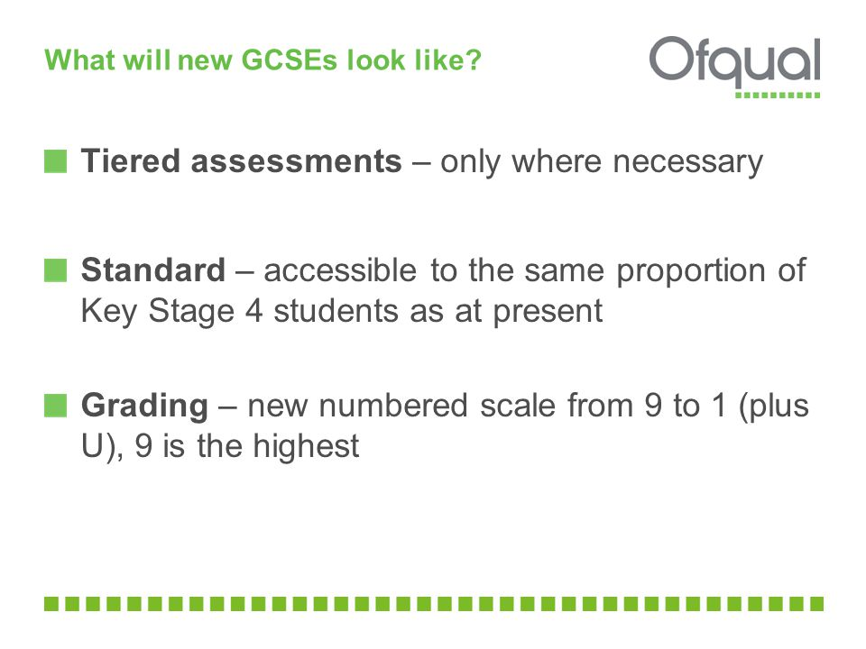 What will new GCSEs look like.