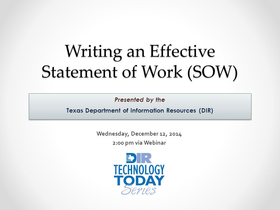 9 Tips to Writing a Statement of Work Effectively
