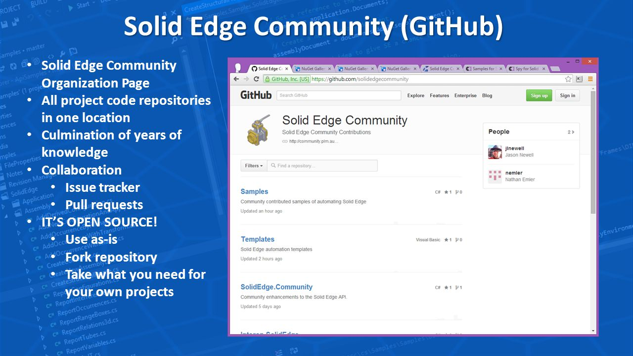 Solid Edge Community Open Source Initiative  Why Is Open