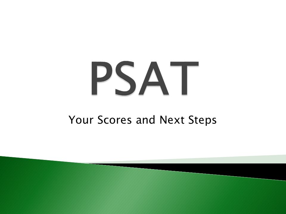 Your Scores and Next Steps