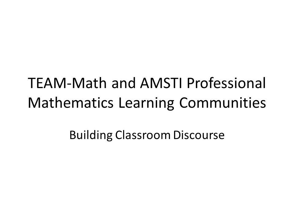 professional mathematics