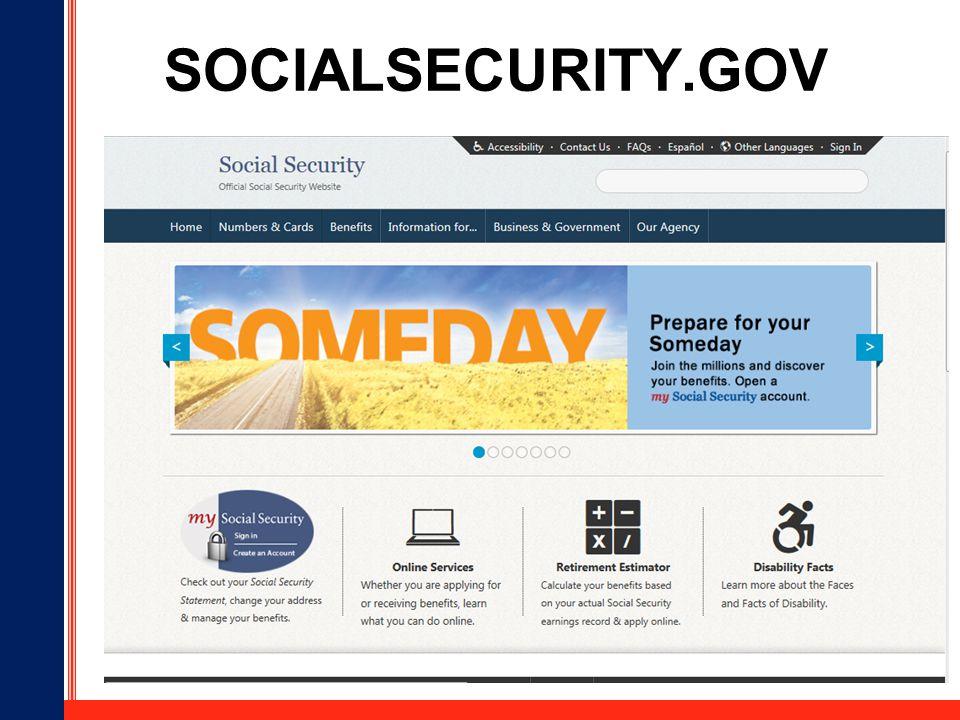 my social security gov