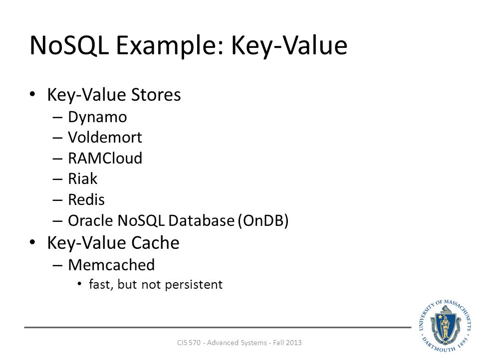 NoSQL and NewSQL Justin DeBrabant CIS Advanced Systems - Fall ppt
