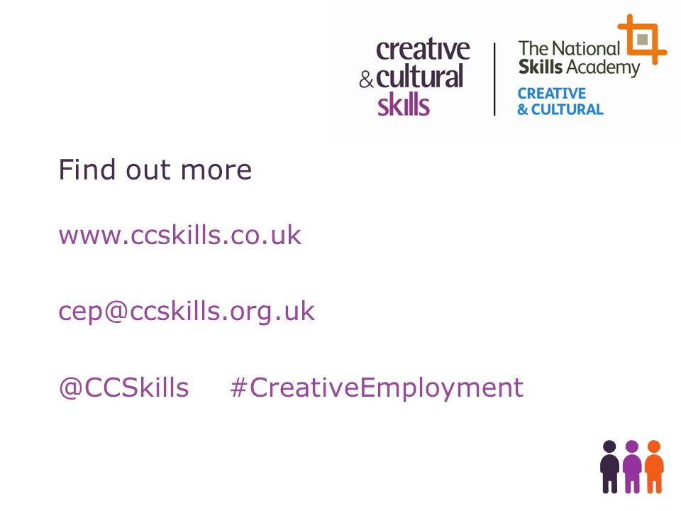 Find out more #CreativeEmployment