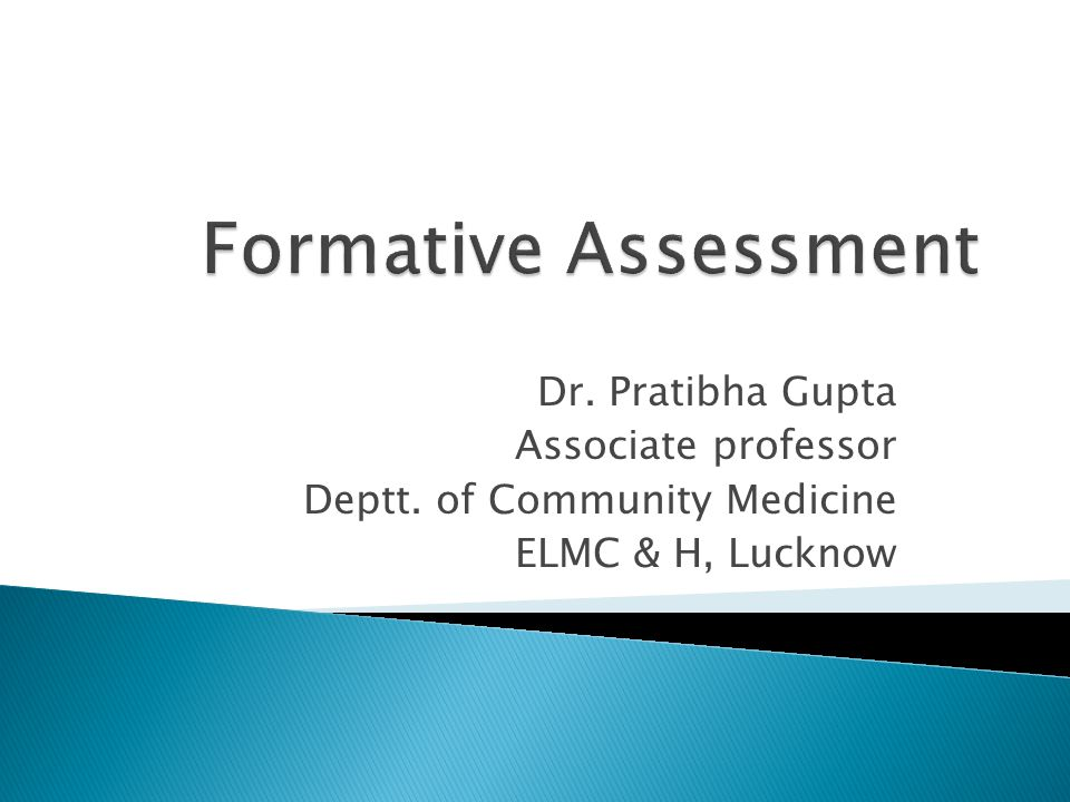Dr. Pratibha Gupta Associate professor Deptt. of Community Medicine ELMC & H, Lucknow