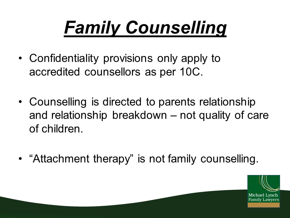 relationship breakdown counselling