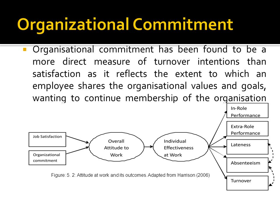 meaning of commitment at work