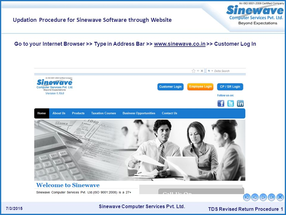 Sinewave Computer Services Pvt. Ltd.