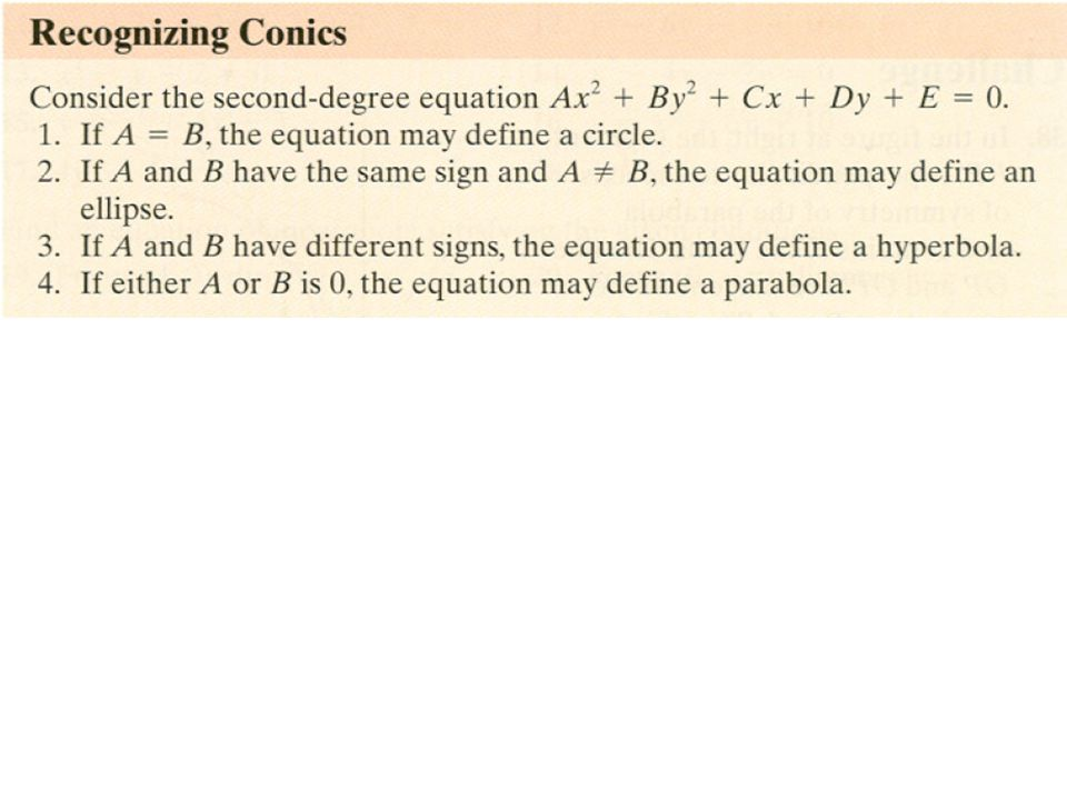 Chapter Second Degree Equations and Systems