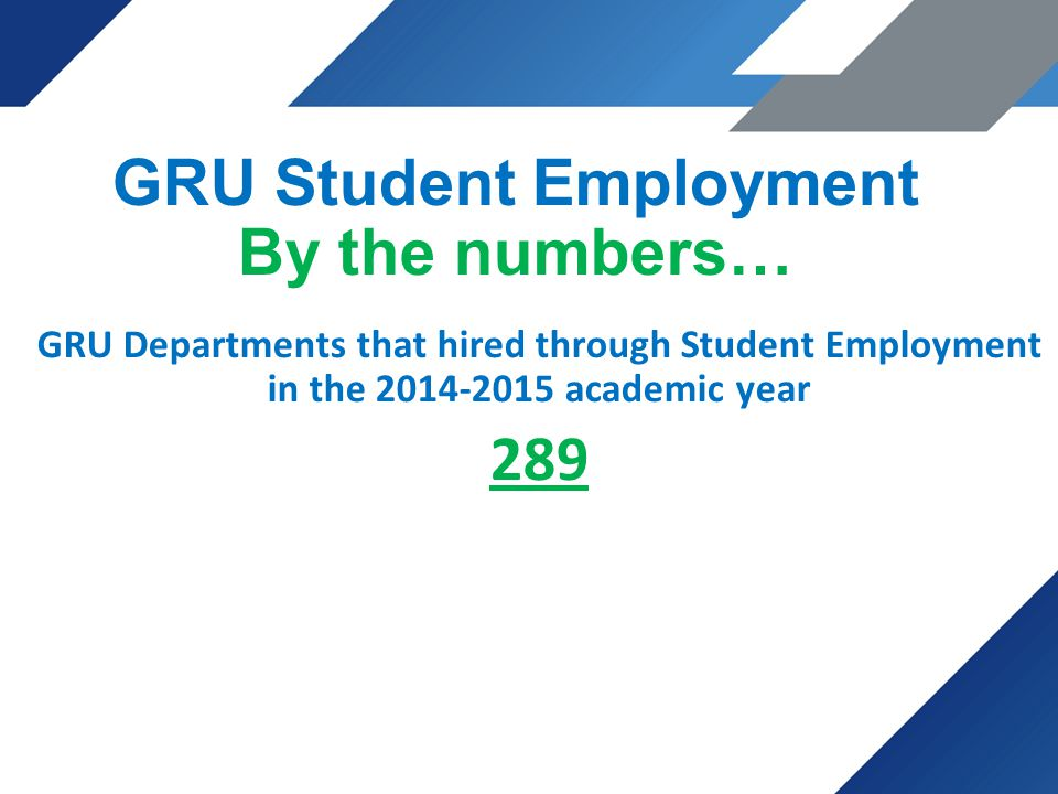 Student Gru Morgan Chavous Human Resources Student Employment