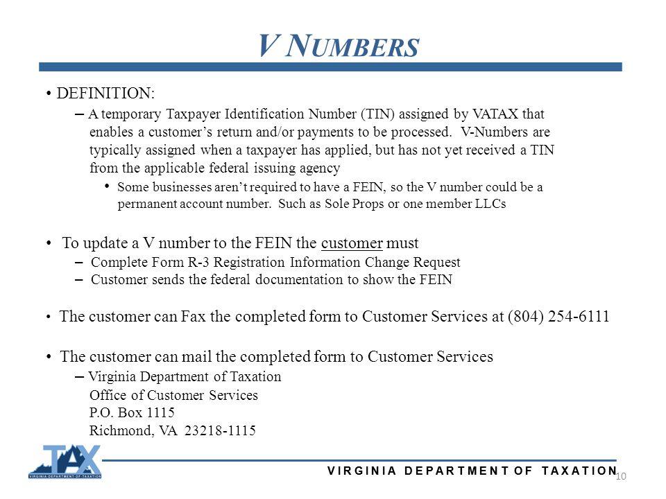 Virginia Department Of Taxation Virginia Association Of Local Tax