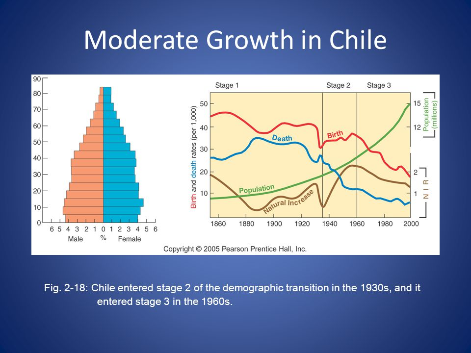 Moderate Growth in Chile Fig.