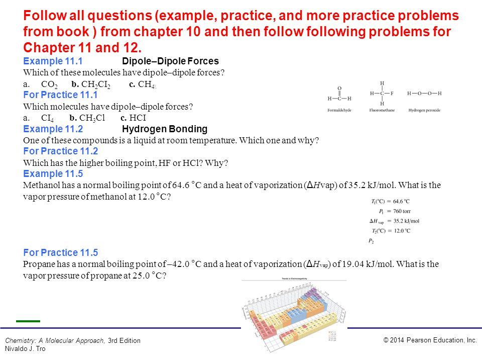 2014 Pearson Education Inc Chemistry A Molecular Approach