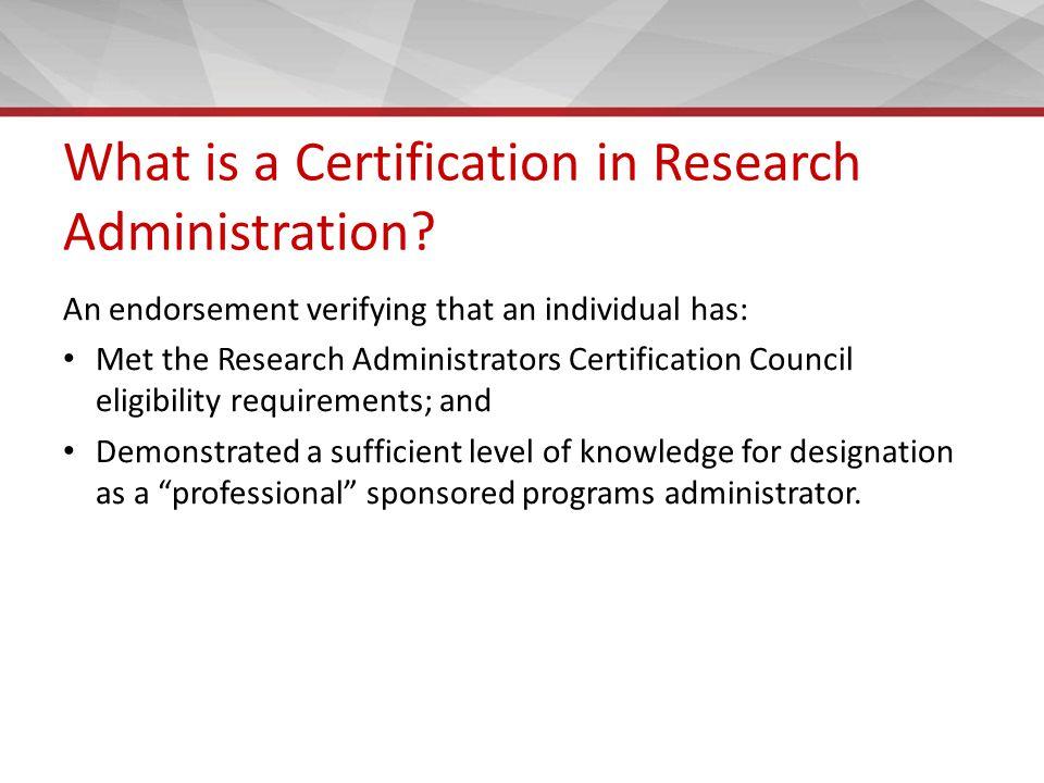 Professional Development For Research Administrators Jean L Flagg