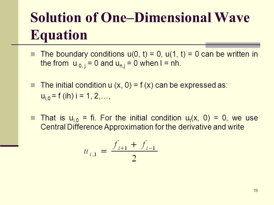 Wave Equation Pde