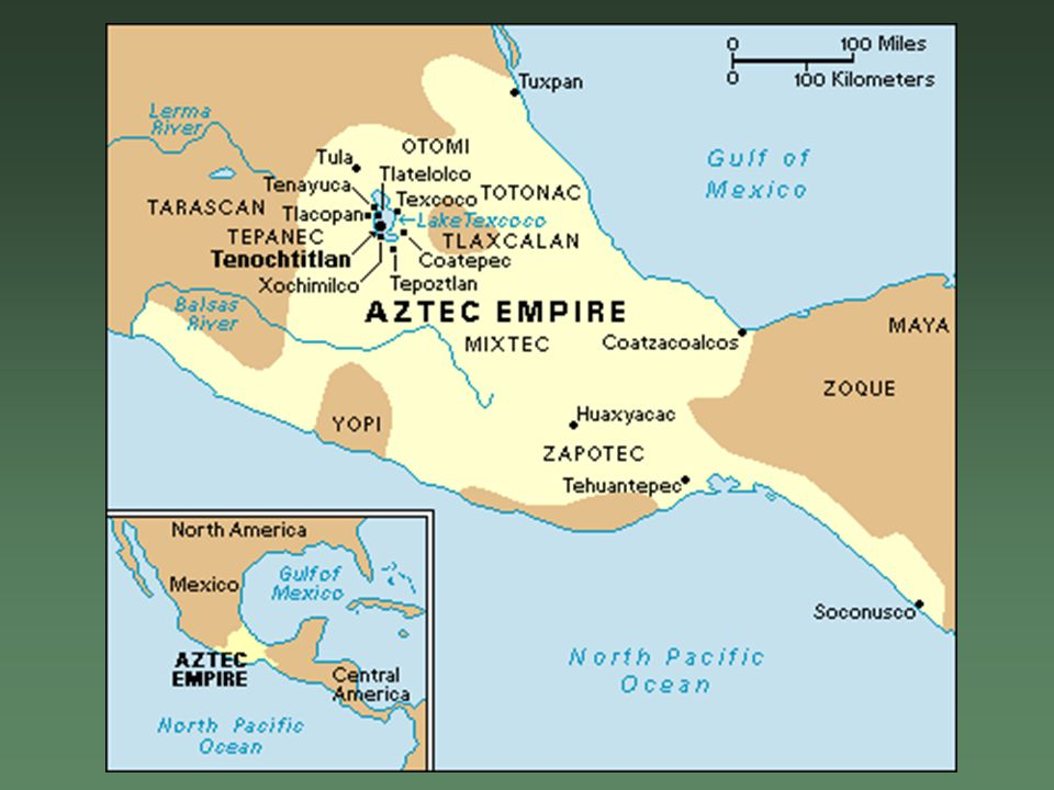 The Aztec Empire Great Empires The Valley Of Mexico A Mountain