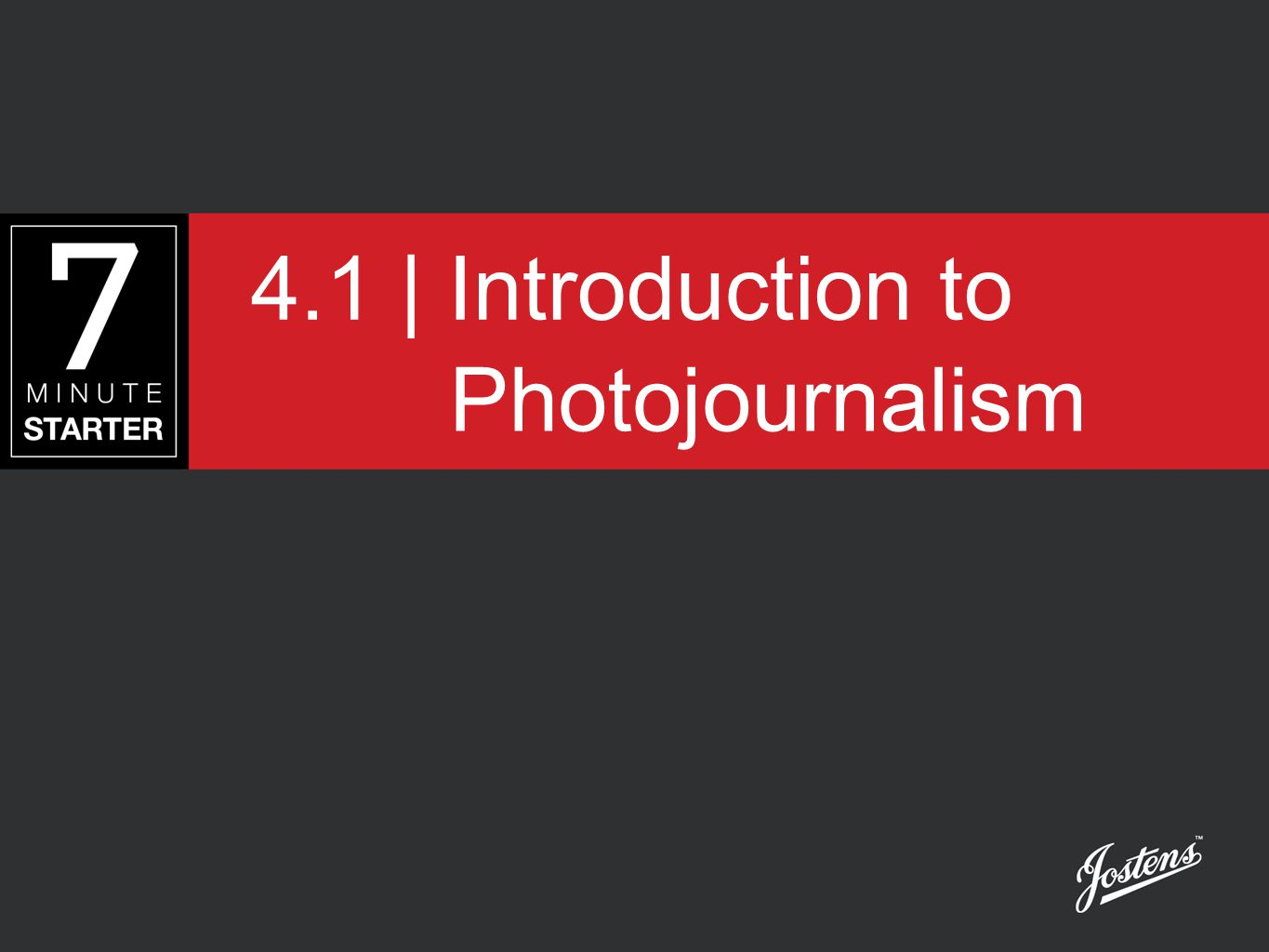 4.1 | Introduction to Photojournalism