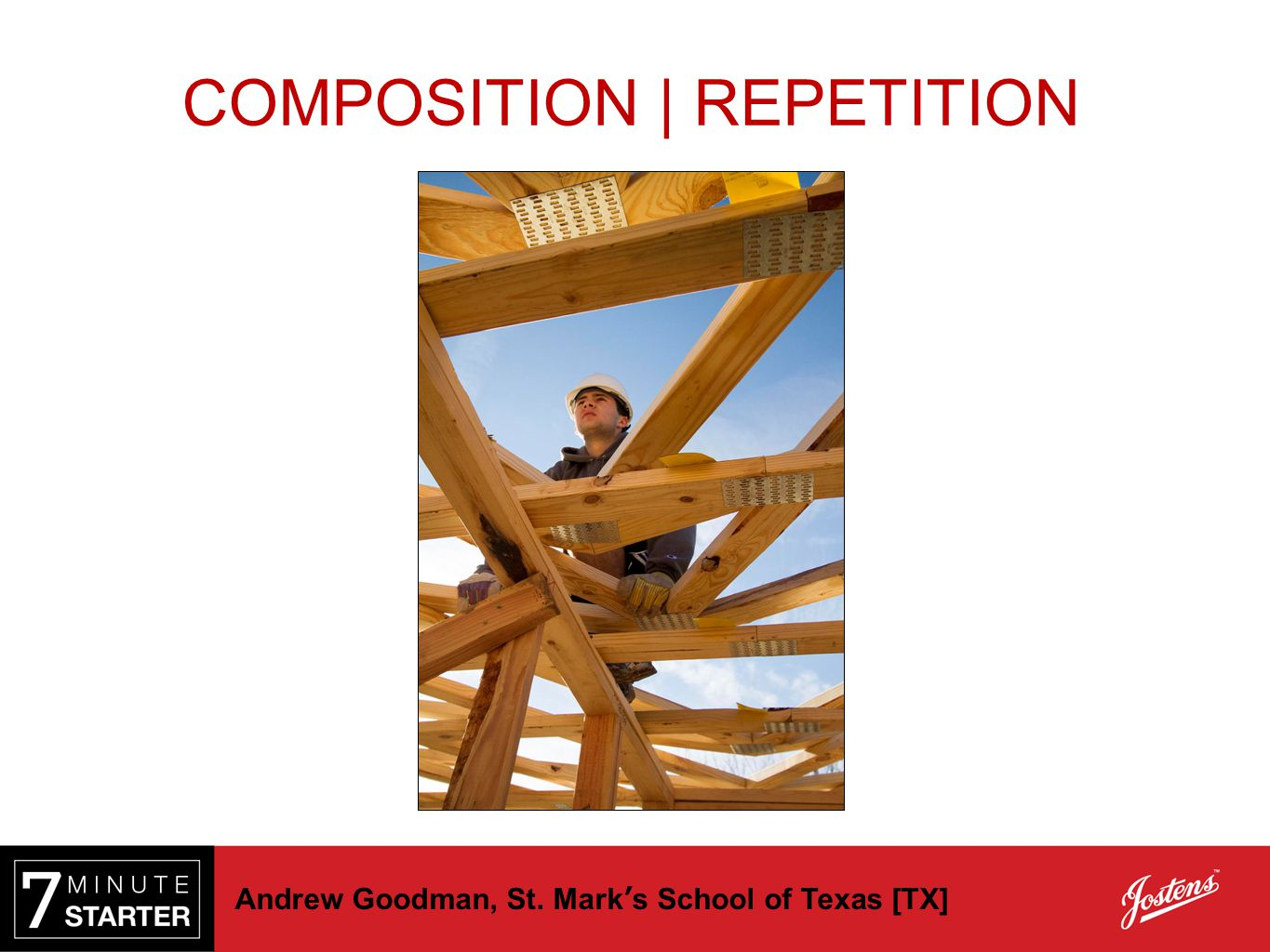 Andrew Goodman, St. Mark's School of Texas [TX] COMPOSITION | REPETITION