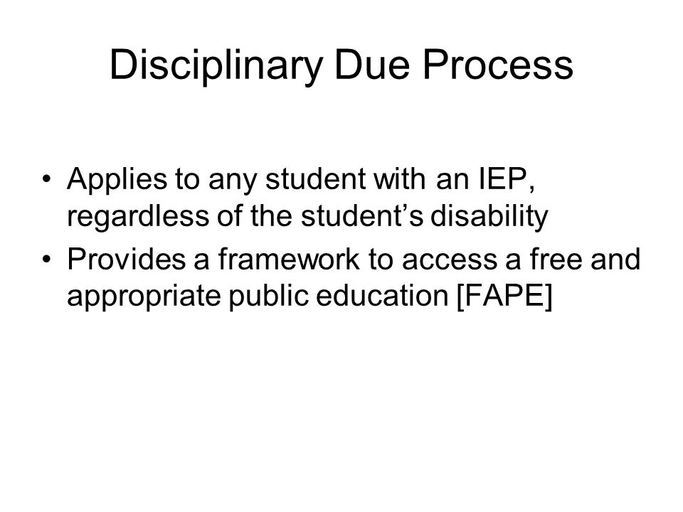 Special education students have a special set of entitlements: They comprise a protected class .