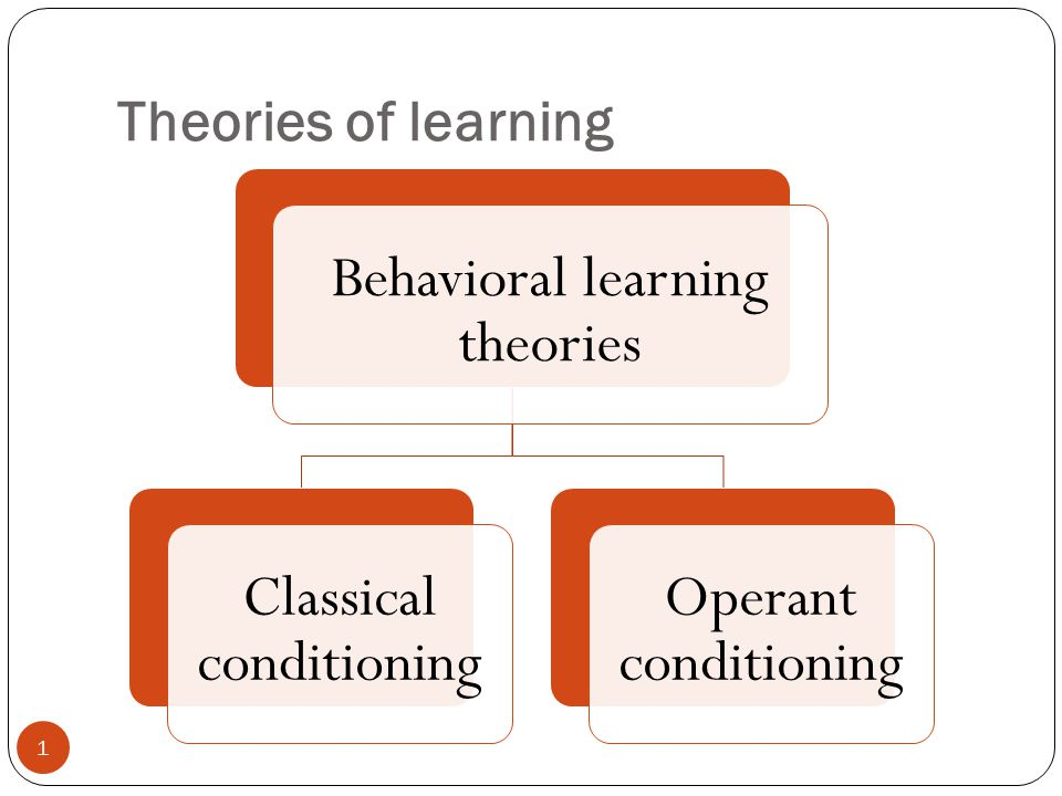 the differences between classical and operant conditioning as learning methods Operant conditioning (sometimes referred to as instrumental conditioning) is a method of learning that occurs through rewards and punishments for behaviorthrough operant conditioning, an association is made between a behavior and a consequence for that behavior.
