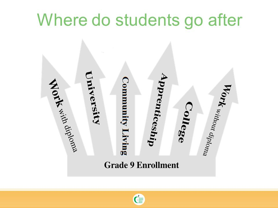 Where do students go after secondary school