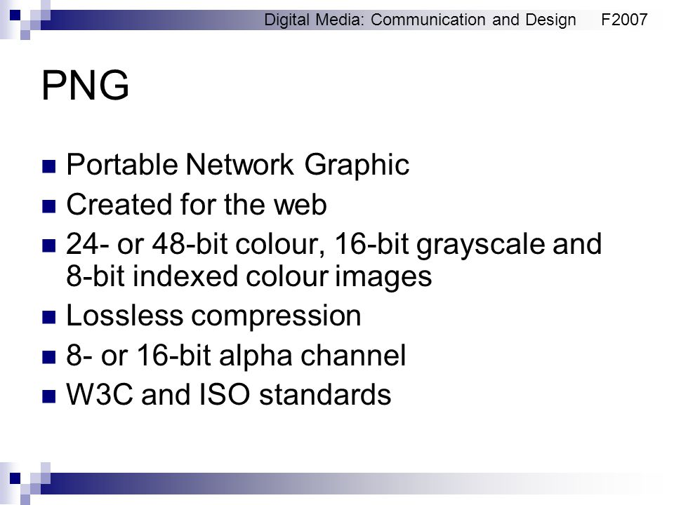 Graphics in the web Digital Media: Communication and Design