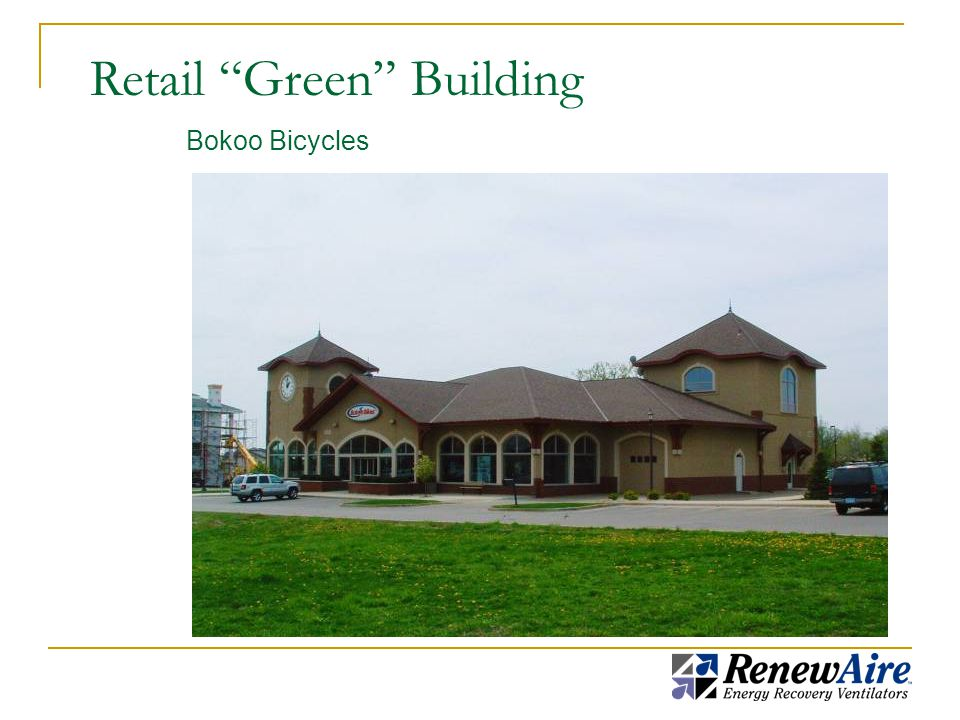 Retail Green Building Bokoo Bicycles