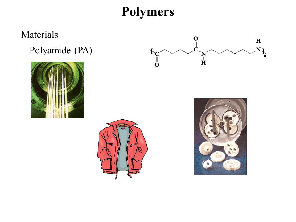 Polymers Materials Polyamide (PA)