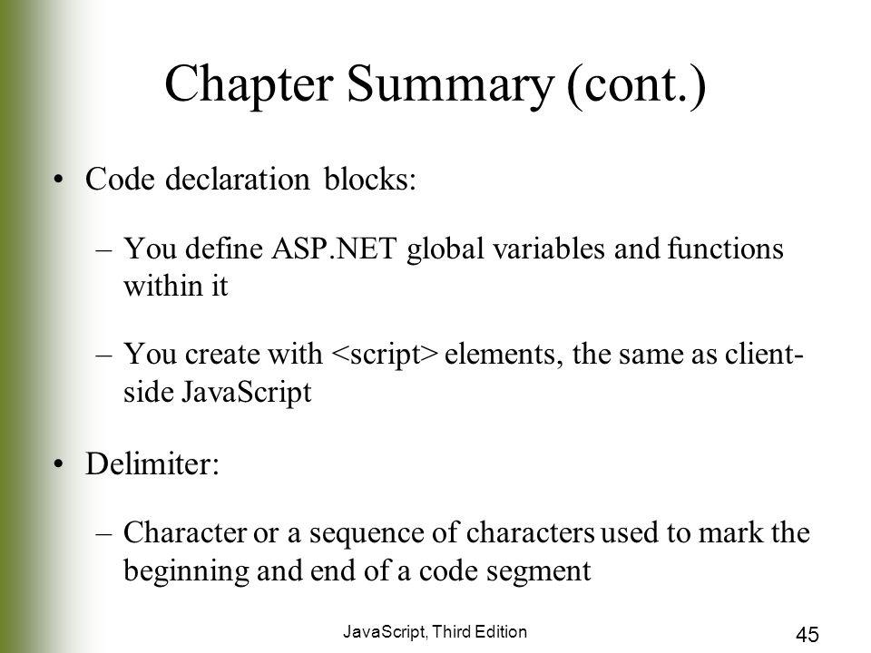 Chapter 11 ASP NET JavaScript, Third Edition  2 Objectives